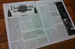 Decadent in Groningen