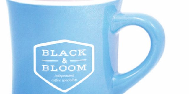 Big Blue Diner Mug